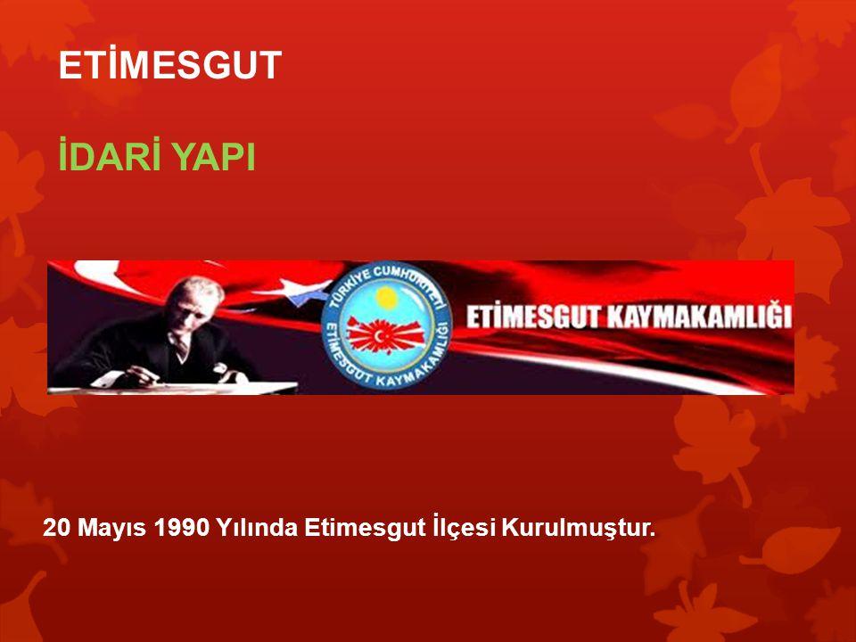 ETİMESGUT'DA BULUNDUĞU YER ( ERYAMAN )