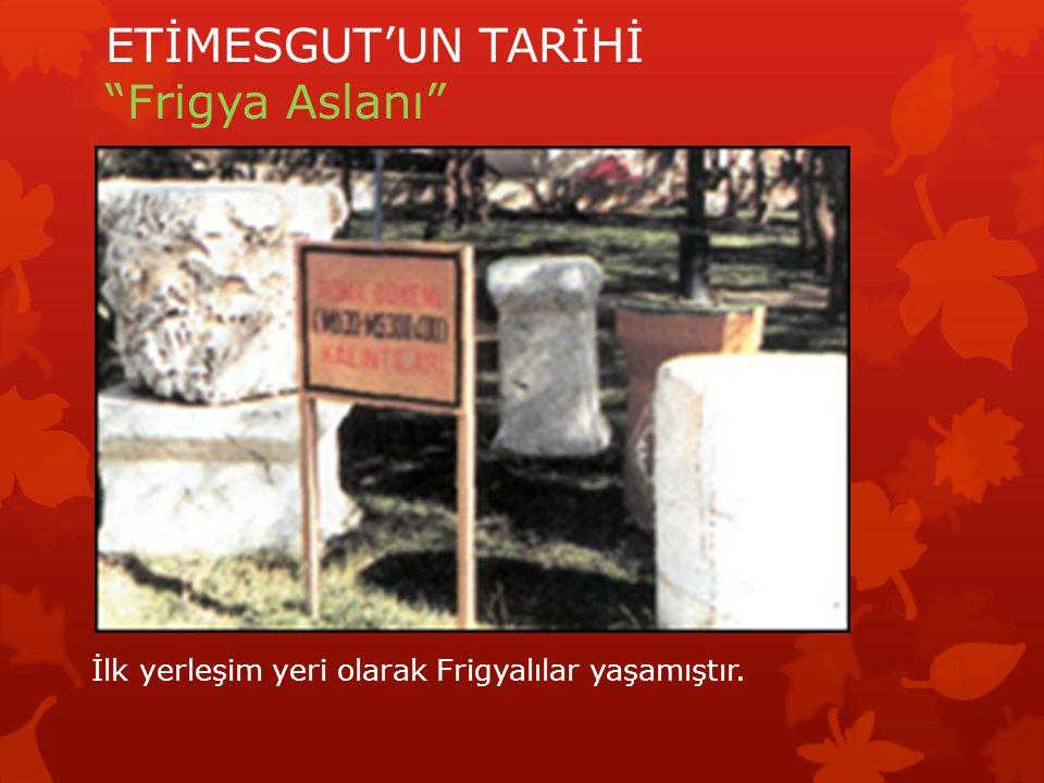 ETİMESGUT'UN TARİHİ Tren Garı Etimesgut tarihi ipek yolu üzerinde kurulmuştur