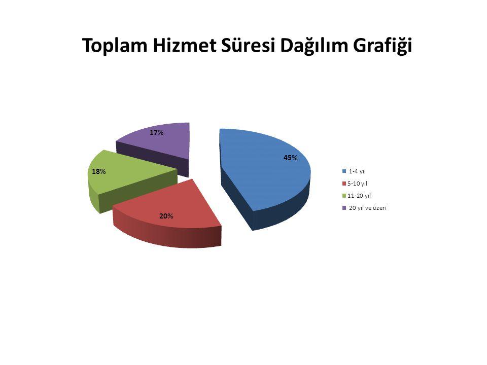 Toplam Hizmet Süresi Dağılım Grafiği