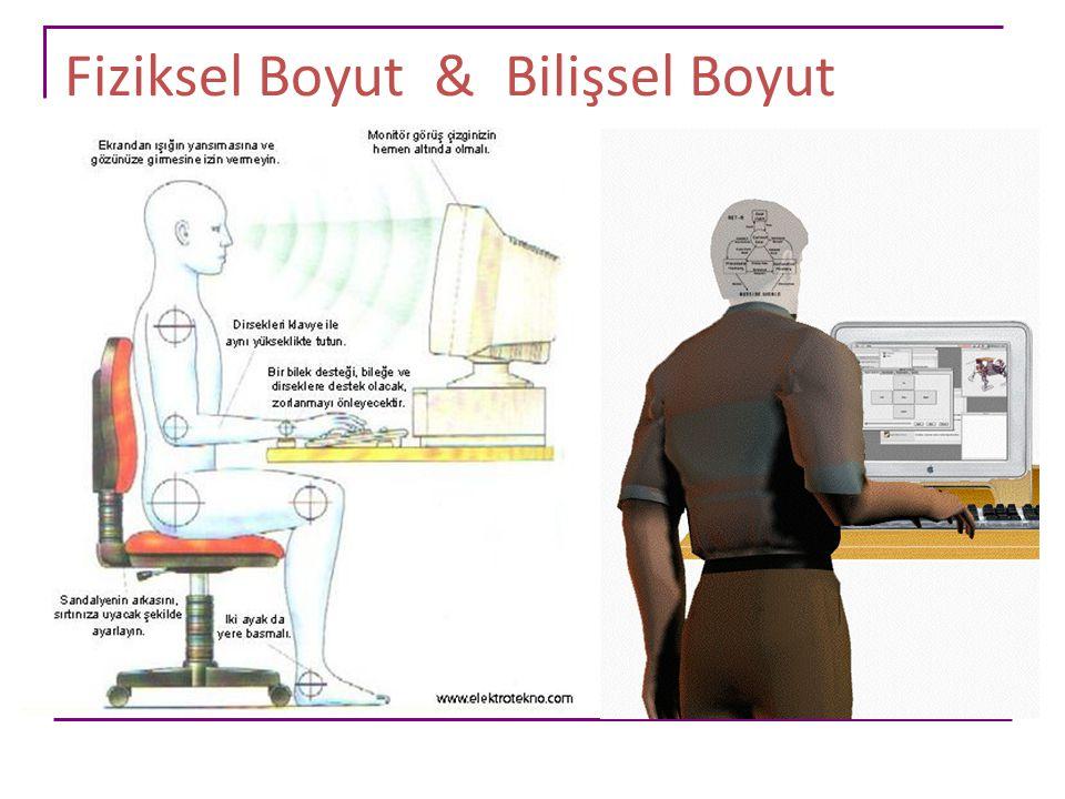 Fiziksel Boyut & Bilişsel Boyut
