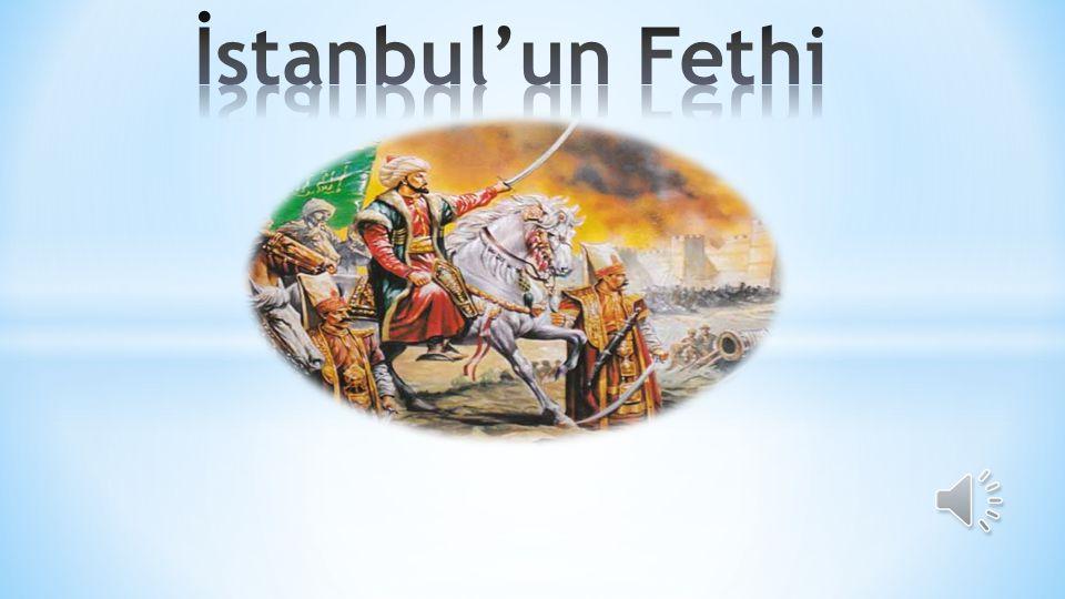 »F»Fatih, olağanüstü bir buluşla Osmanlı gemilerinin karadan Haliç'e indirilmesine karar verdi.