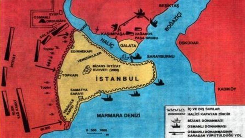  İstanbul tam 53 günde kuşatıldı.Fatih'in emriyle 29 Mayıs 1453 günü ikinci hücum başladı.Bizanslılar daha fazla dayanamadı.Aynı gün öğleden sonra İs