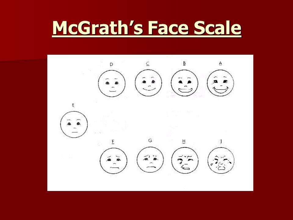 McGrath's Face Scale