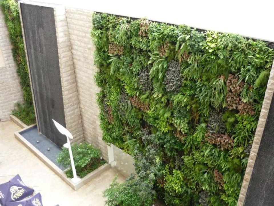 Dikey bahçe kavramı 1994 te yaşayan duvarlar adıyla Patrick Blanc tarafından üretilen bir sistemdir.