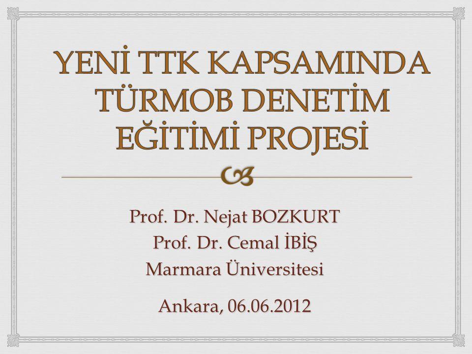 Prof. Dr. Nejat BOZKURT Prof. Dr. Cemal İBİŞ Marmara Üniversitesi Ankara, 06.06.2012