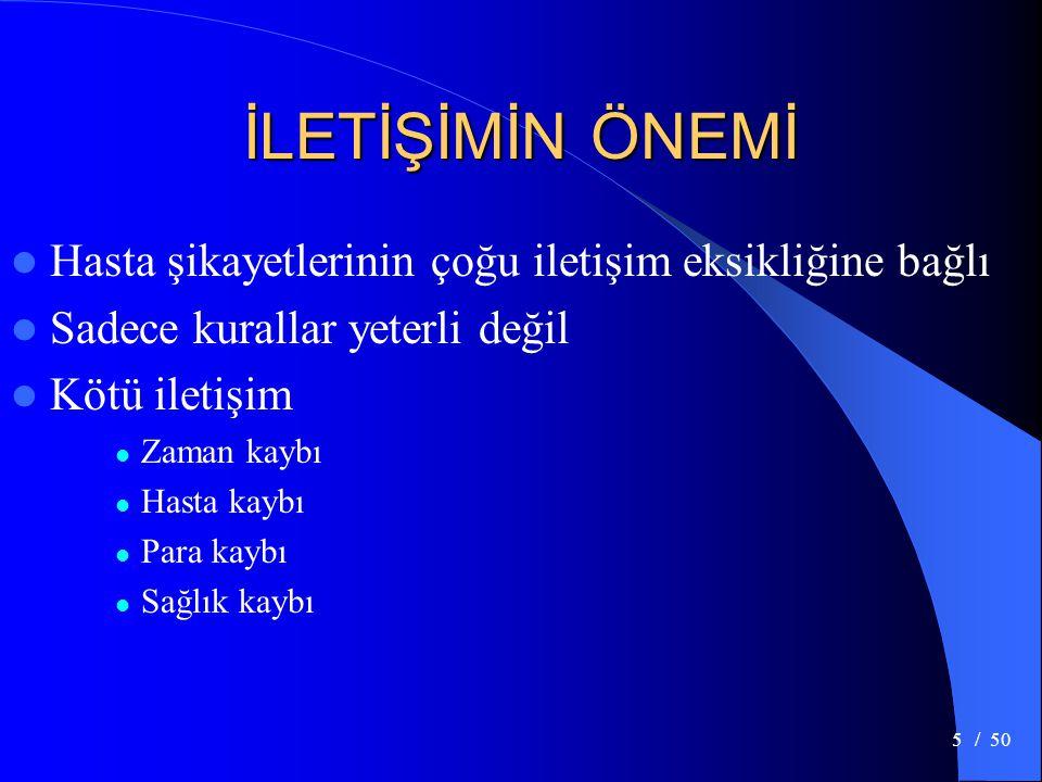 / 506 İLETİŞİM SÜRECİ