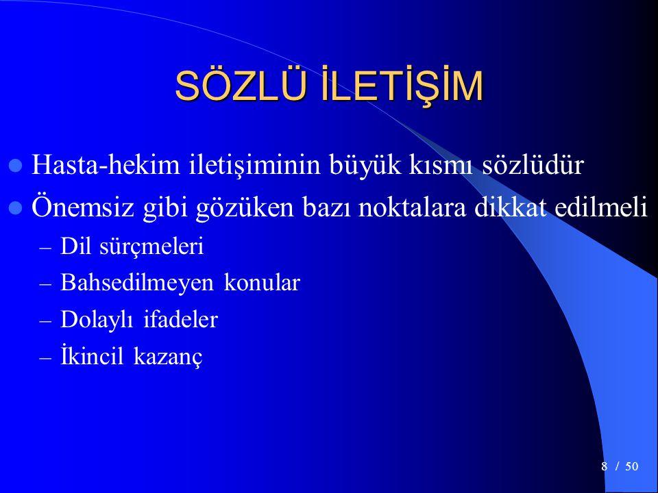 / 5039 VÜCUT DİLİ (Kollar)