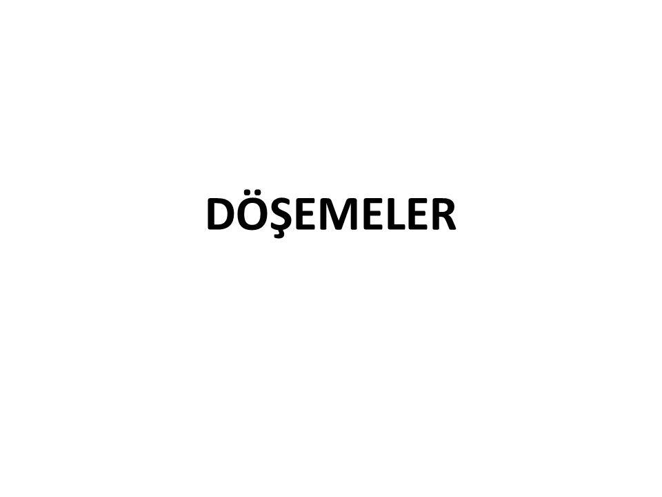 DÖŞEMELER