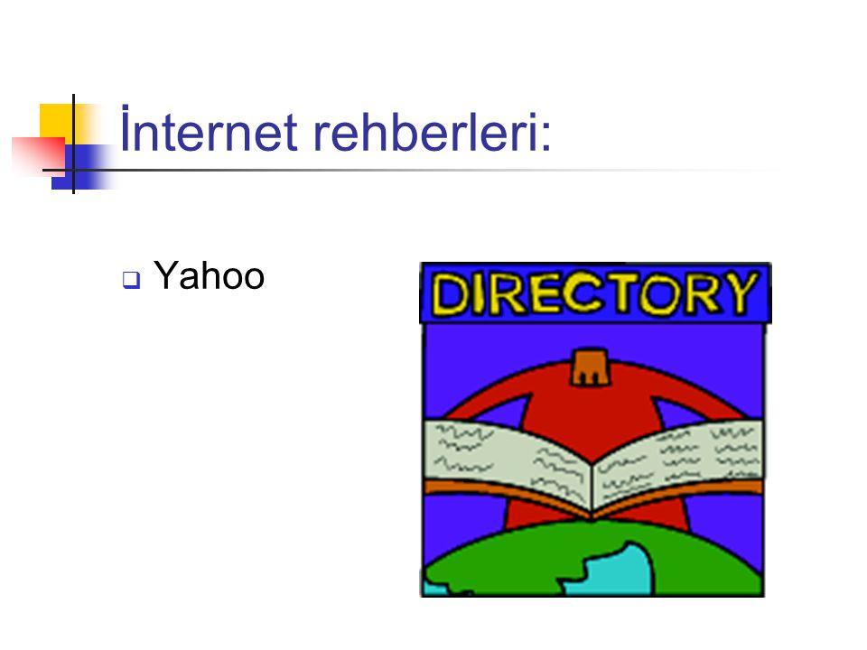 İnternet rehberleri:  Yahoo