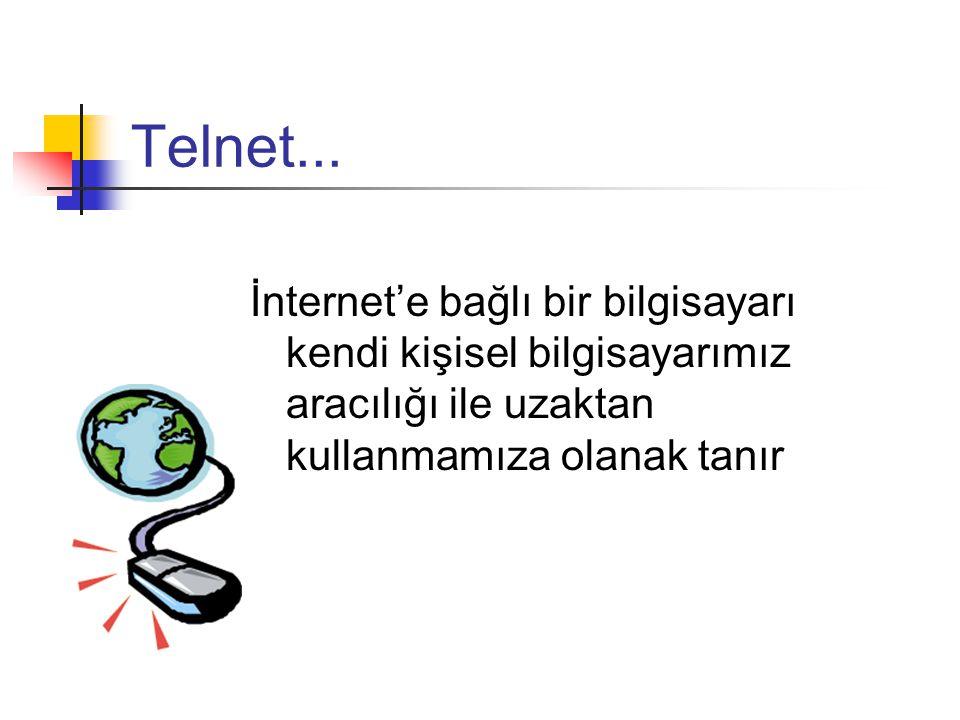 İnternet rehberleri...
