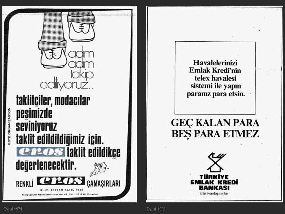 Eylül 1971 Eylül 1981