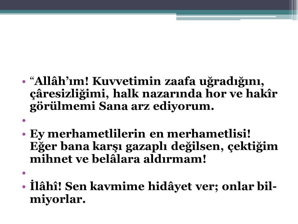 Allâh'ım.