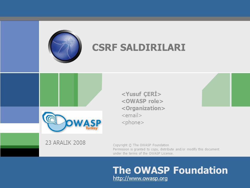 2 CSRF  CSRF Nedir.