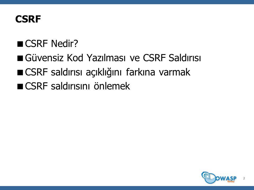 CSRF NEDİR.