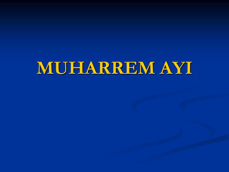 MUHARREM AYI