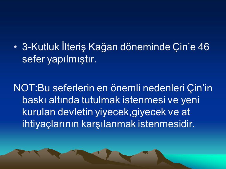 UYGURLARIN ÖNEMLİ ÖZELLİKLERİ 1-Tarihte göçebe hayattan yerleşik hayata geçen ilk Türk devletidir.(Yerleşik hayata geçilmesinde Mani dininin etkisi büyüktür.
