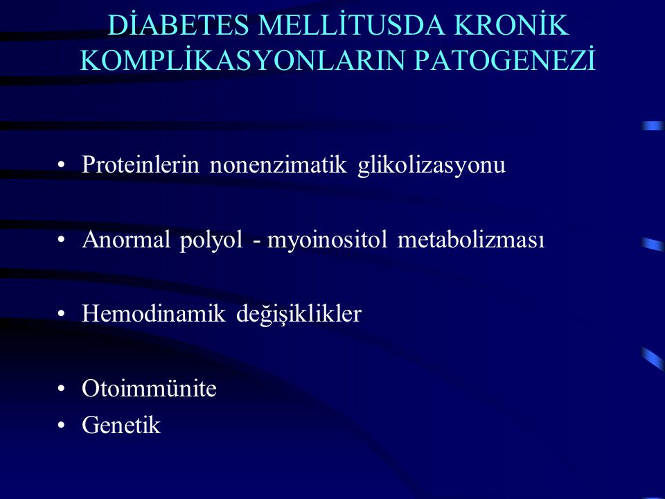 Diyabetes Mellitus prevalans Ülkemizde ~ 5.000.000 ABD'de 15.000.000 ~ 100.000 (SDBY) (%7) Avrupa 22.500.000 ~ 100-120.000 (SDBY) (%0.5) SDBY (son dönem böbrek yetmezliği)