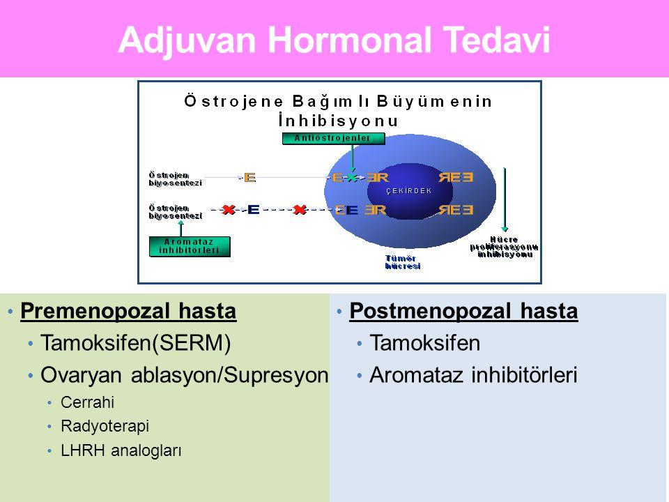 Premenopozal Olgular (n=877) Postmenopozal olgular (n=4277) Primer Tanıda Menopozal Durum MA.17: Uzatılmış Adjuvant Tedavi Premenopozal vs Postmenopozal Goss PE et al.
