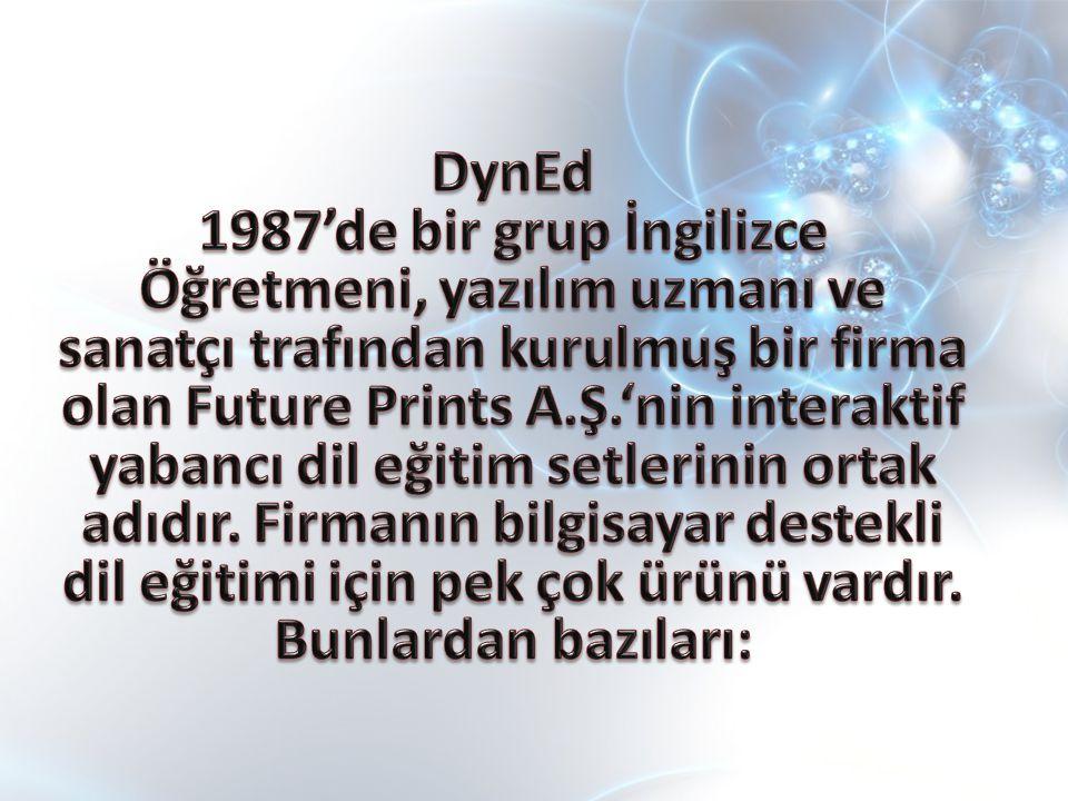 PLACEMENT TEST Uzunluğu değişken, bilgisayar kontrollü olan bu Yerleştirme Sınavı kullanıcıları DynEd eğitim yazılımlarında düzeylerine uygun olan başlangıç noktasına yerleştirir.