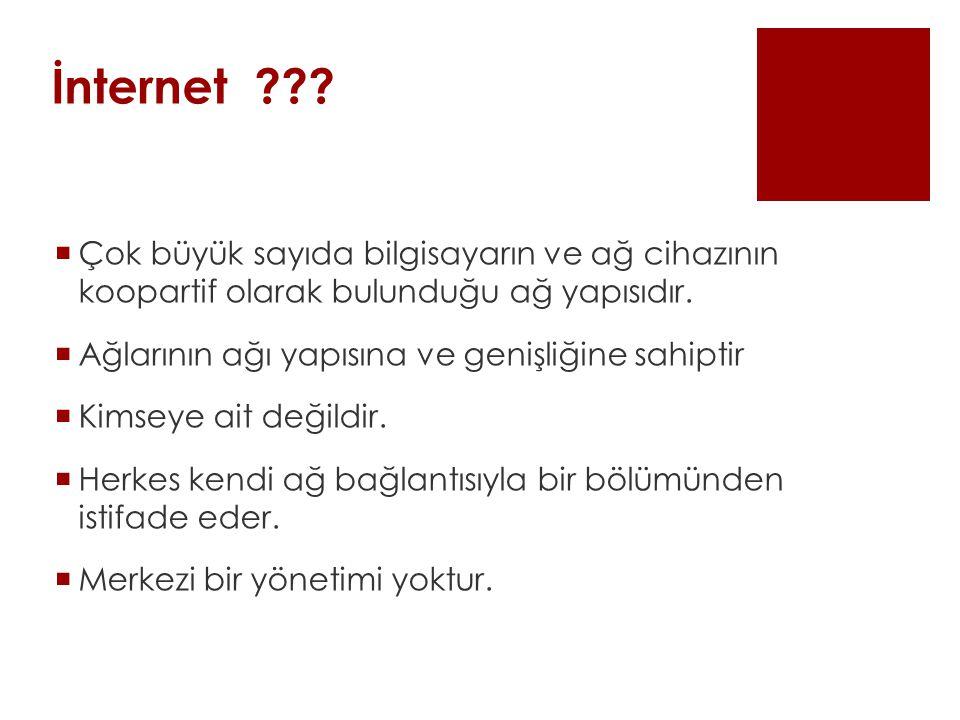 İnternet .