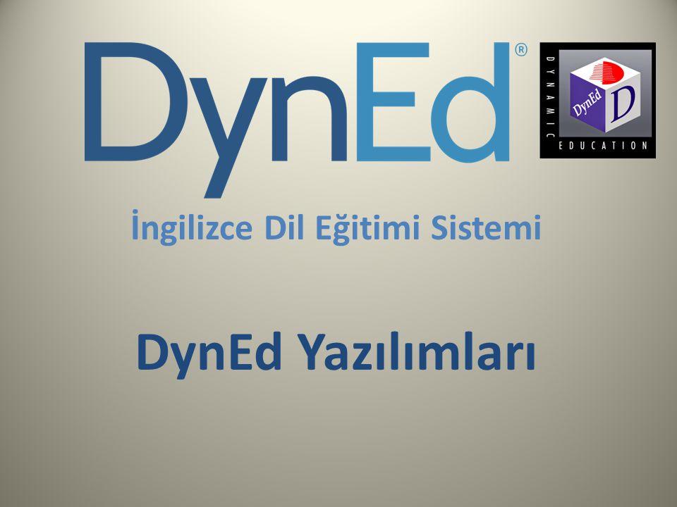 İngilizce Dil Eğitimi Sistemi DynEd Yazılımları