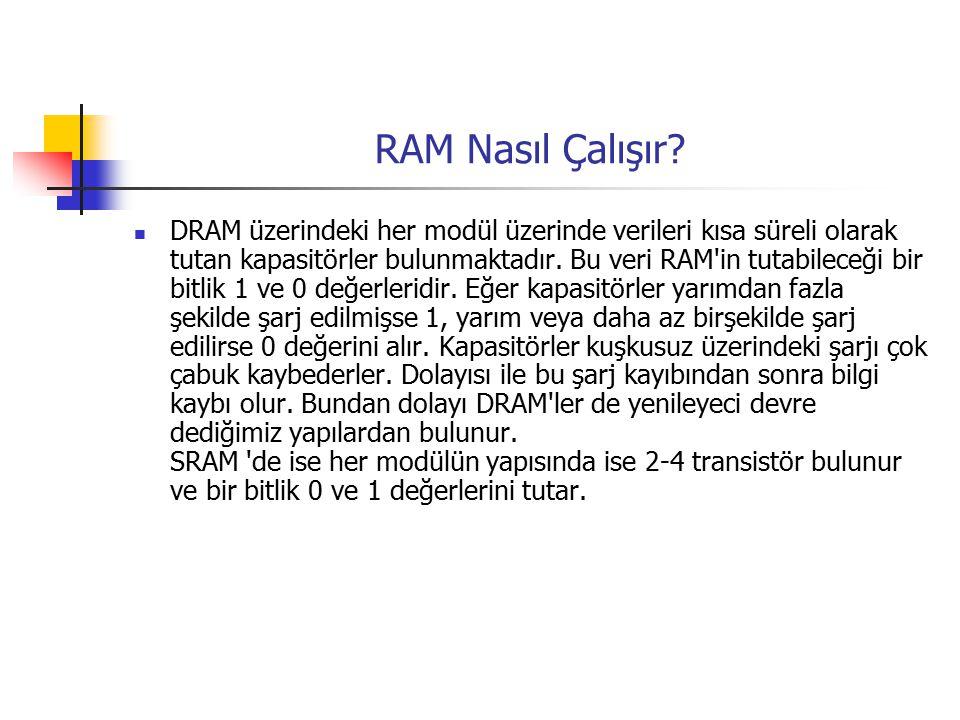 RAM Nasıl Çalışır.