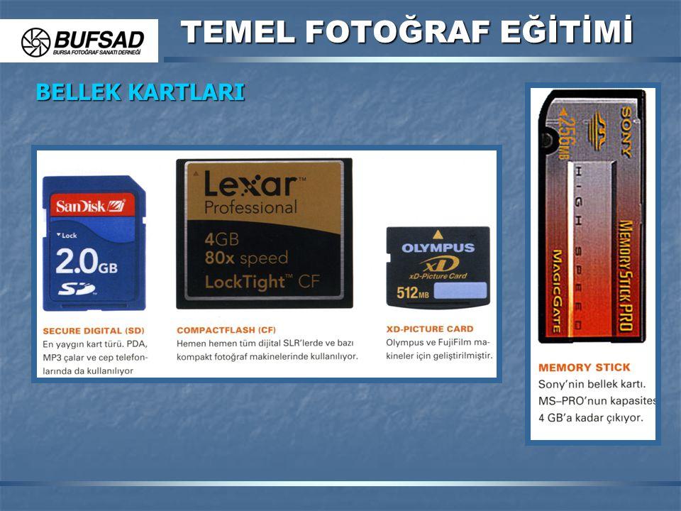 TEMEL FOTOĞRAF EĞİTİMİ BELLEK KARTLARI