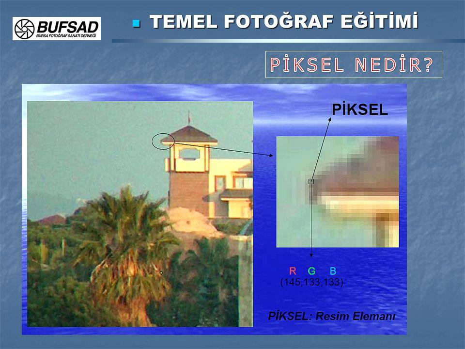 TEMEL FOTOĞRAF EĞİTİMİ TEMEL FOTOĞRAF EĞİTİMİ