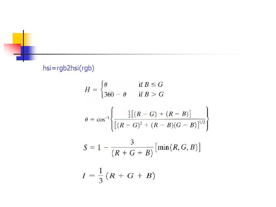hsi=rgb2hsi(rgb)