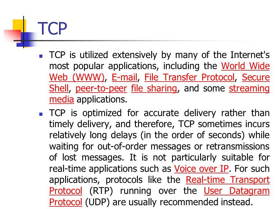 25 TCP Header Alanları Acknowledgement Number (AckNo): Hostlar ACK göndermek için AckNo alanını kullanırlar (If a host sends an AckNo in a segment it sets the ACK flag ) AckNo alanı hostun bir sonraki almak istediği SeqNo yu içerir.