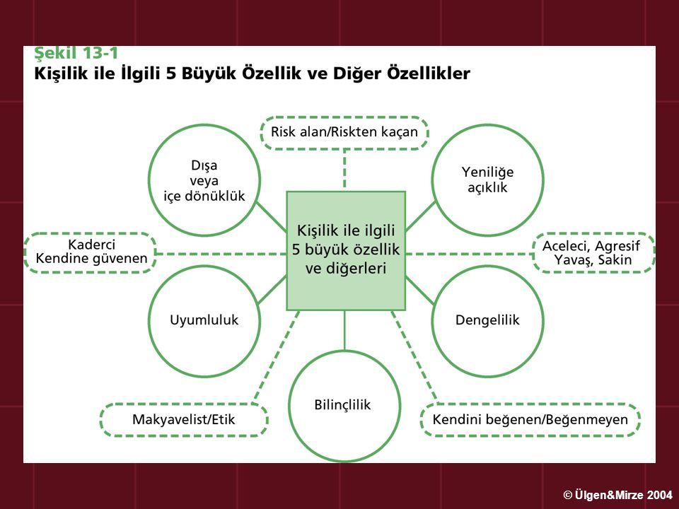 Paylaşılan Değerler (Kurum Kültürü) İşletme yöneticilerinin ve çalışanların, işletmenin amaçlarını gerçekleştirmek için işlerini yaparken, onlara yol gösteren, ışık tutan, tüm işletme mensuplarının benimsediği ve kabul ettiği değerler, inançlar ve düşünceler sistemi'dir © Ülgen&Mirze 2004
