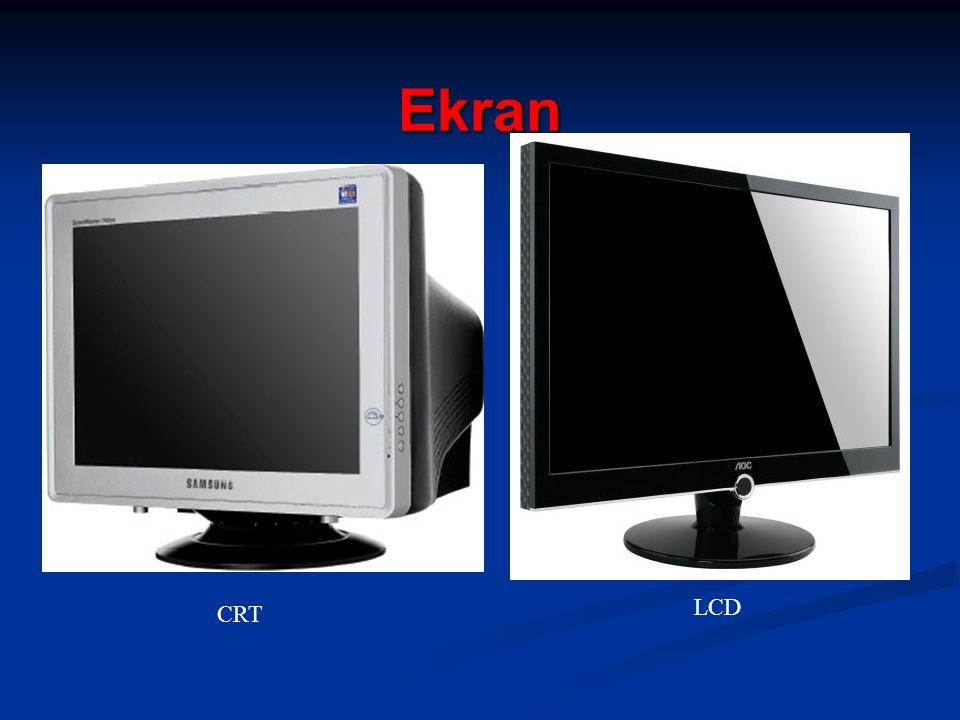 Ekran CRT LCD