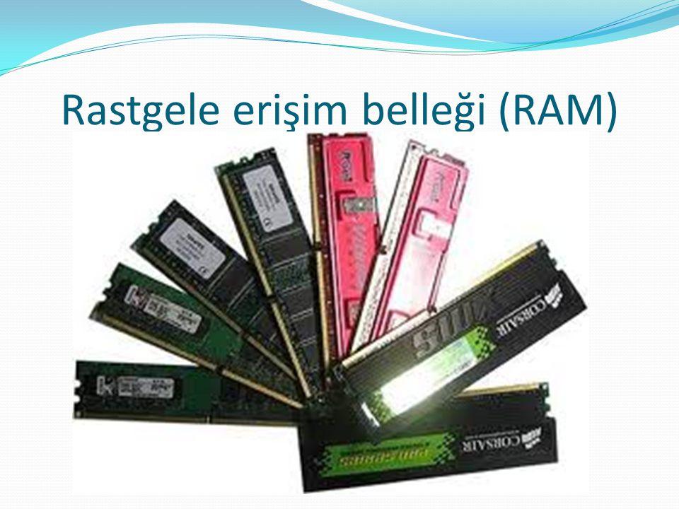 Rastgele erişim belleği (RAM)