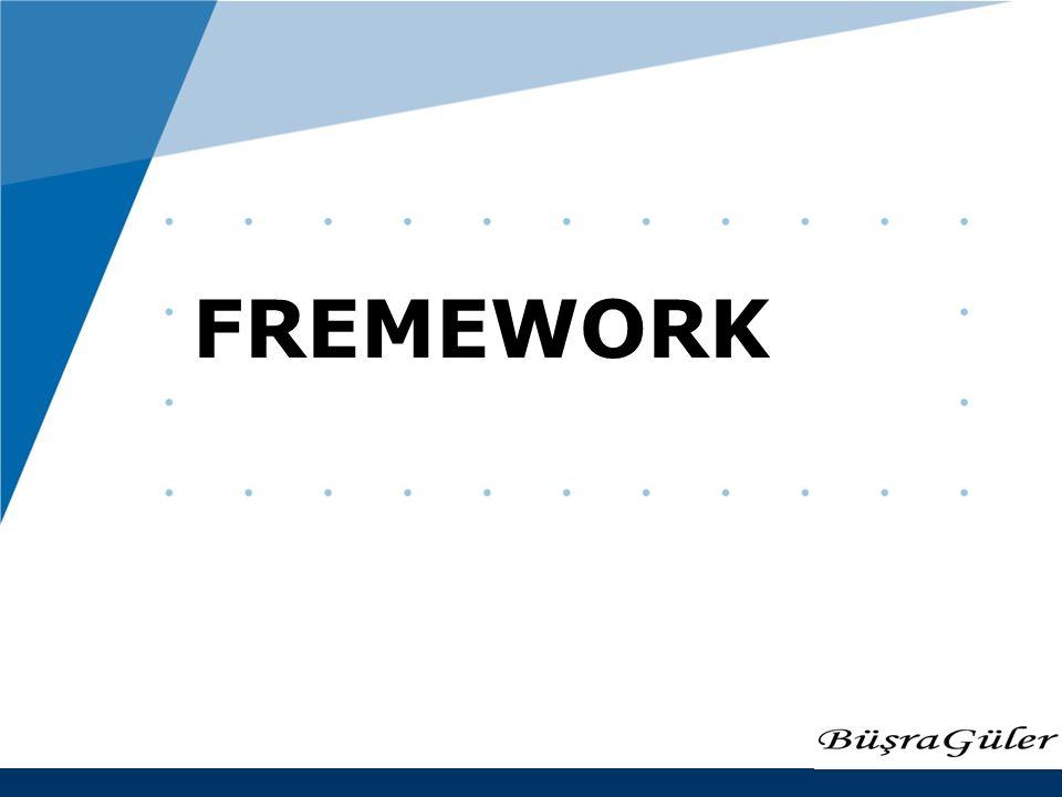 www.company.com FREMEWORK