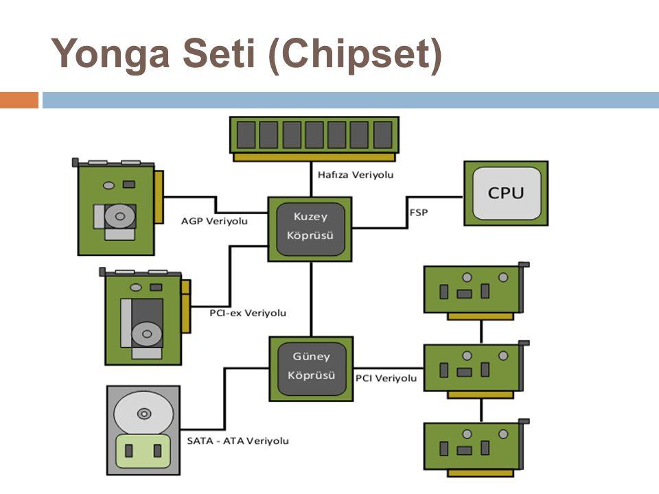Disket Sürücü Bağlantı Portu  Disket sürücüler bağlanmaktadır.