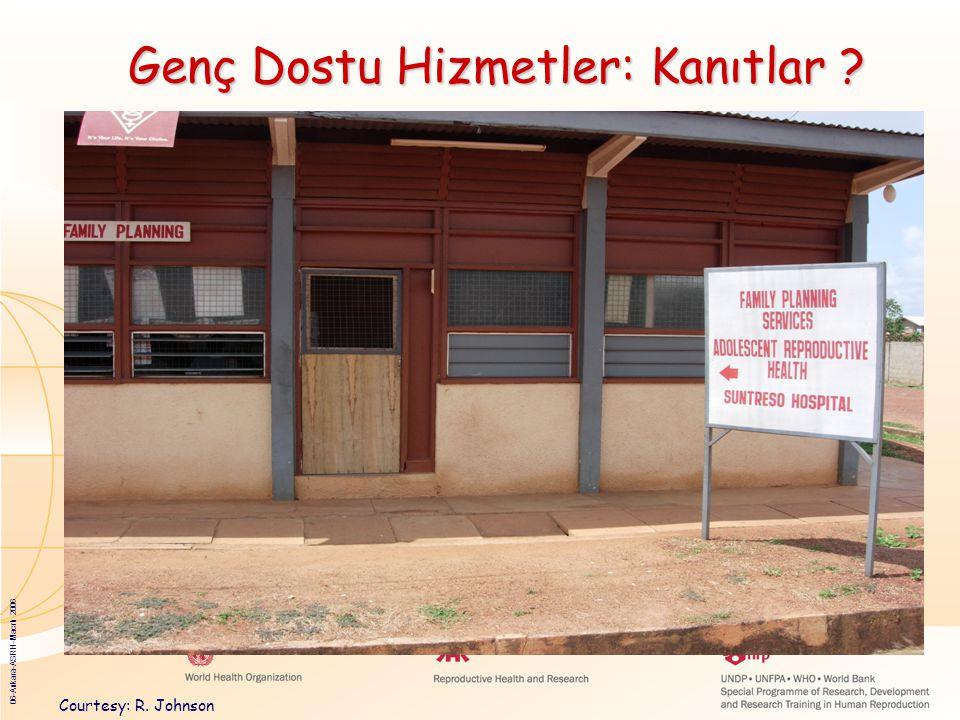 06-Ankara-ASRH-Macrh 2006 Genç Dostu Hizmetler: Kanıtlar ? Courtesy: R. Johnson