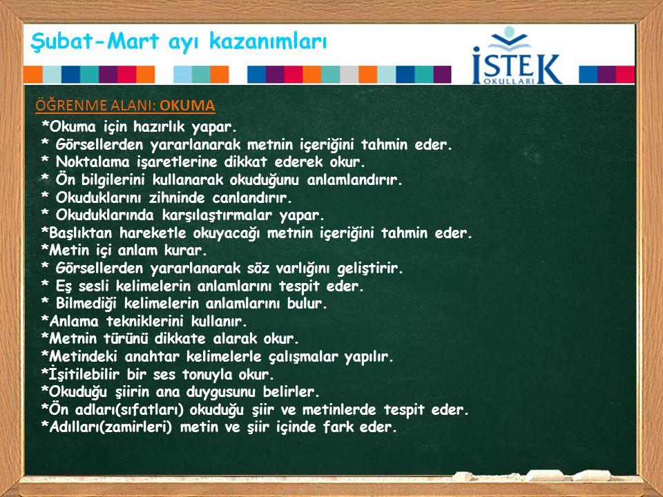 Türkçe konularımız *Sözlük kullanma becerisini geliştirmek için kelimelerin alfabetik sıralaması yaptırıldı.