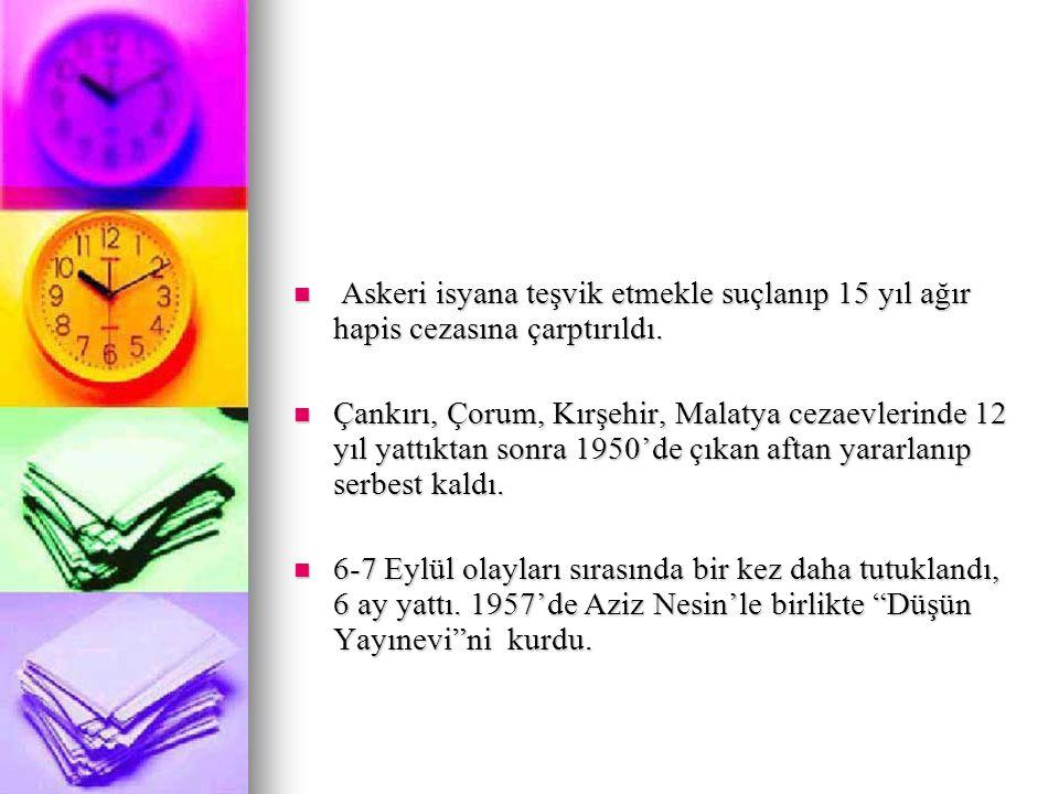 Kemal Tahir edebiyata İçtihat dergisinde çıkan şiirleriyle girdi.