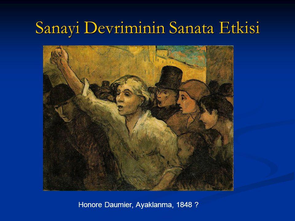 Sanayi Devriminin Sanata Etkisi Honore Daumier, Ayaklanma, 1848 ?