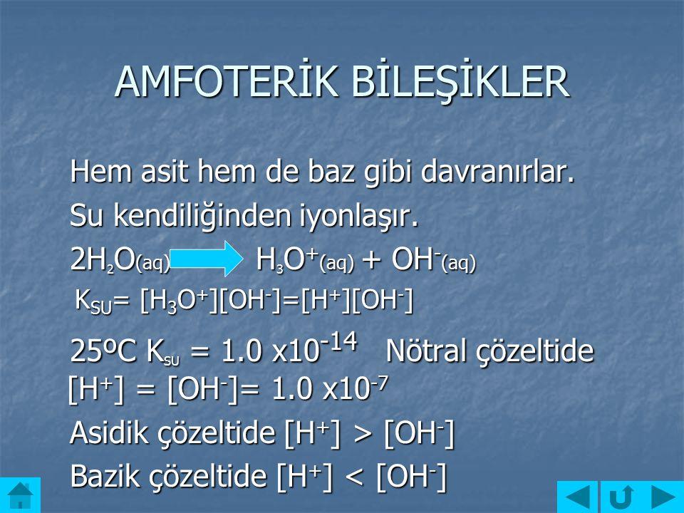 POLİPROTİK ASİTLER Poliprotik asitler suda iyonlaştığı zaman suya birden fazla hidrojen iyonu verebilen bileşiklerdir. Poliprotik asitler suda iyonlaş