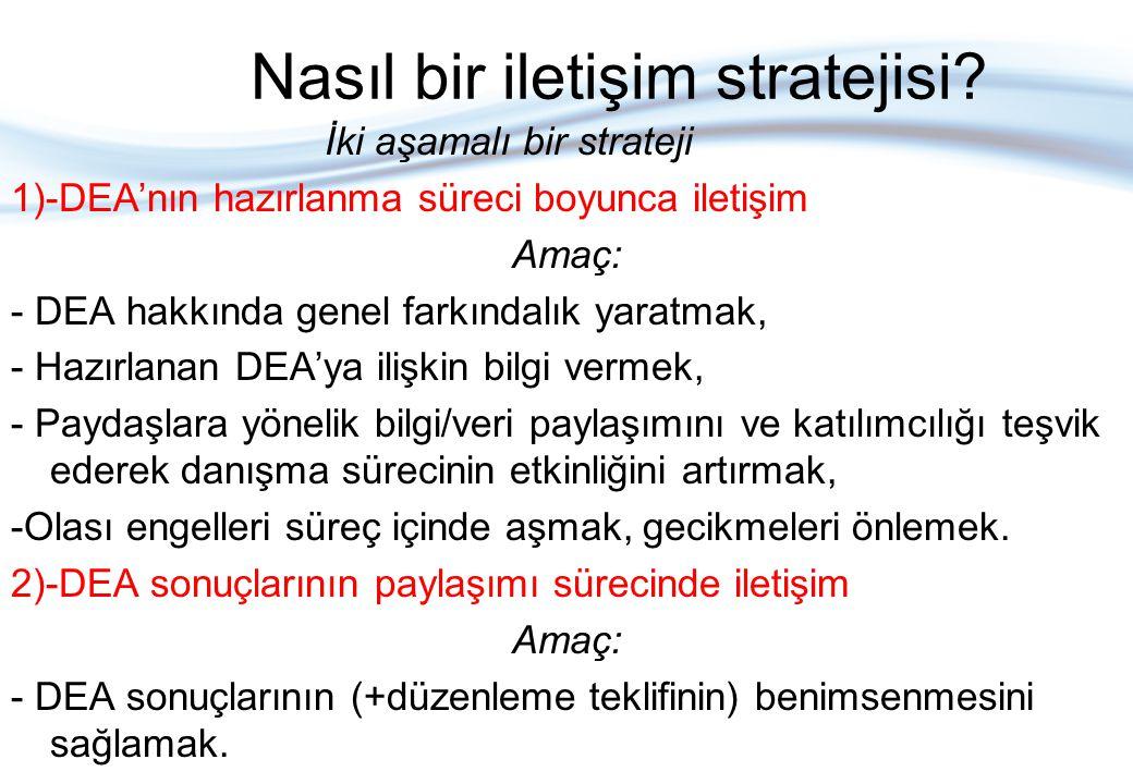 Strateji neleri kapsamalı.