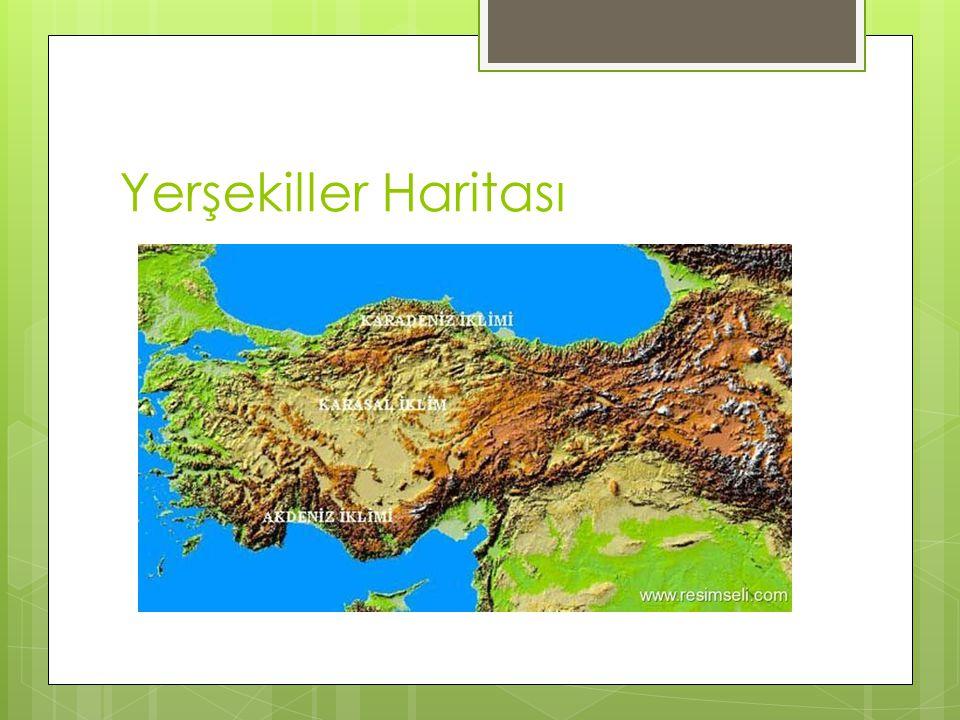 Yerşekiller Haritası