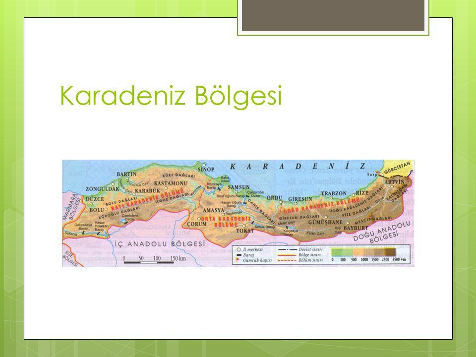  Ülkemizde orta derece de yağış alan bölgeler ise; Akdeniz, Ege, Marmara, Orta Karadeniz, Doğu Anadolu ve İç Anadolu'nun kuzey kesimleridir.