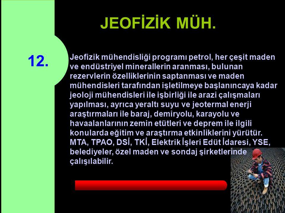 12.JEOFİZİK MÜH.