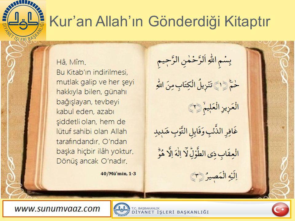 Kur'an Değişmez Gerçektir.