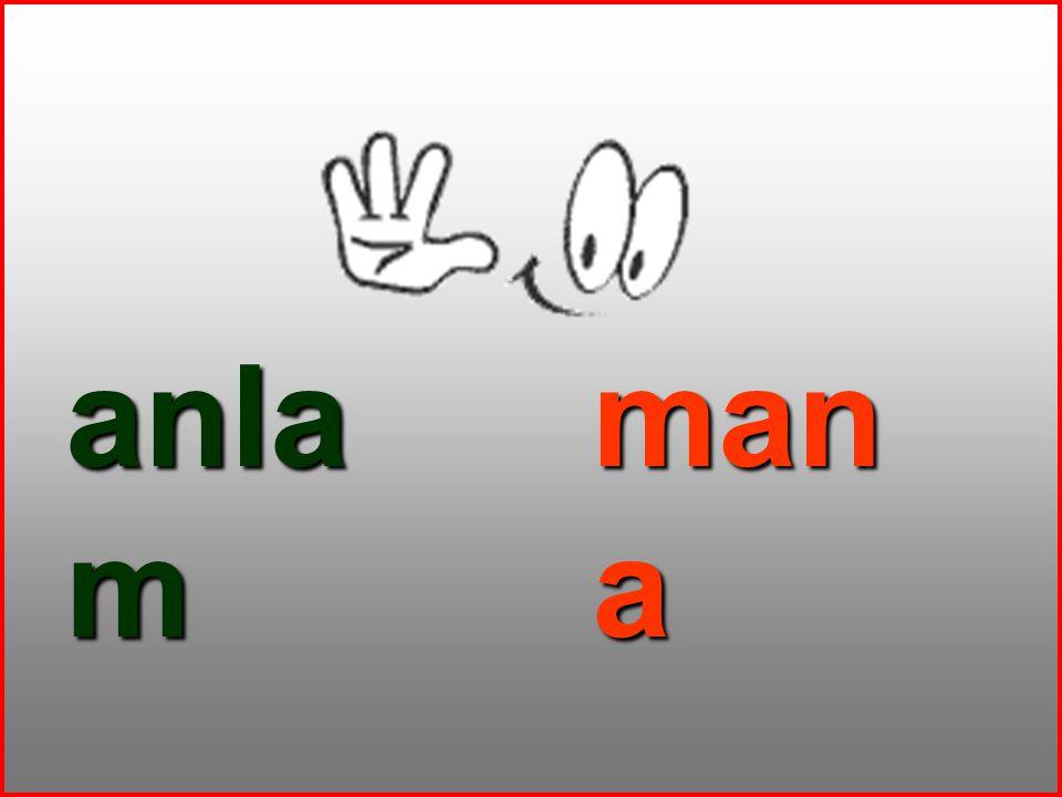 anla m man a
