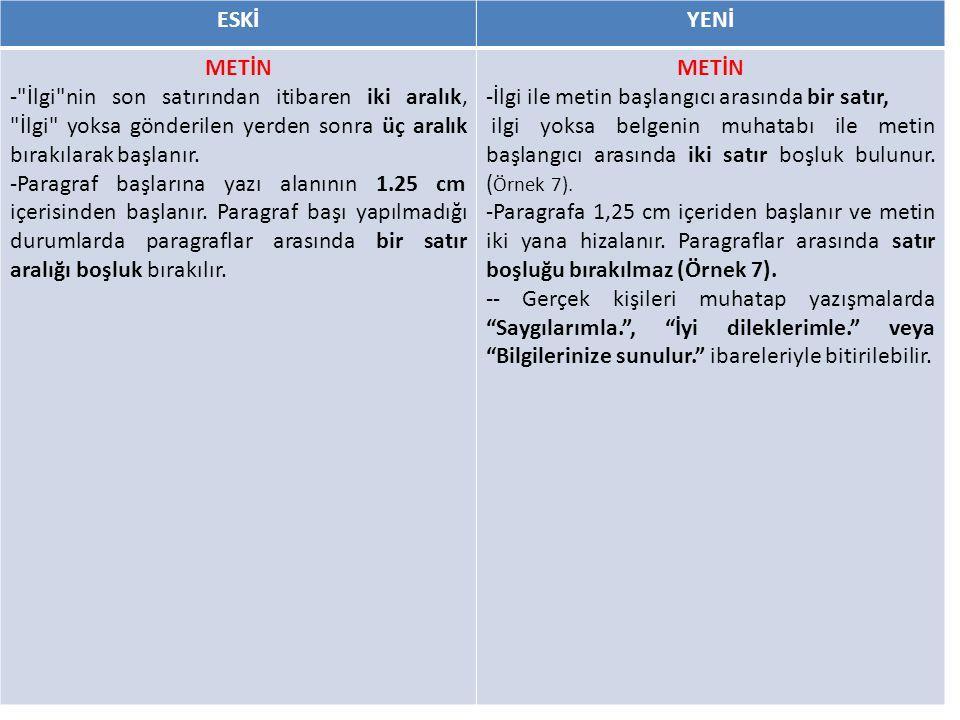 ESKİYENİ METİN -