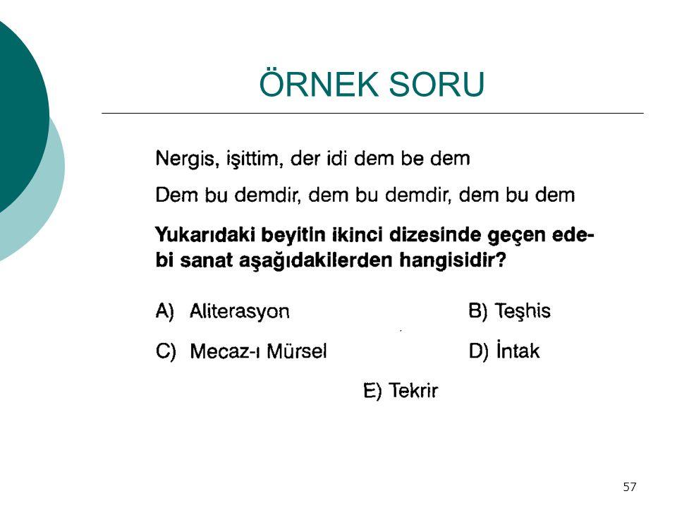 ÖRNEK SORU 57