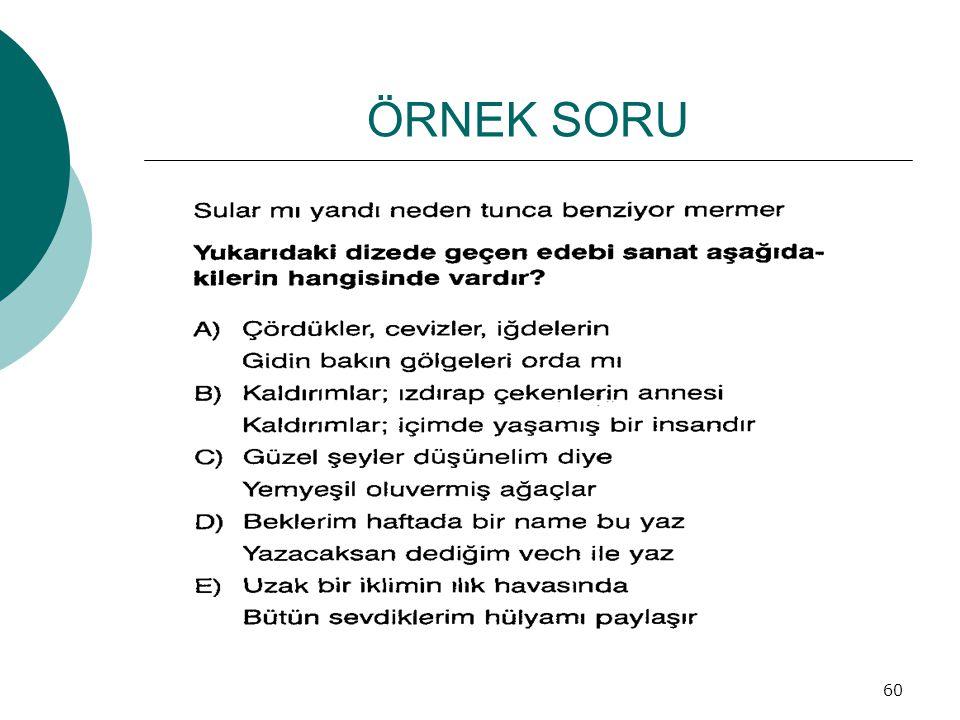 ÖRNEK SORU 60