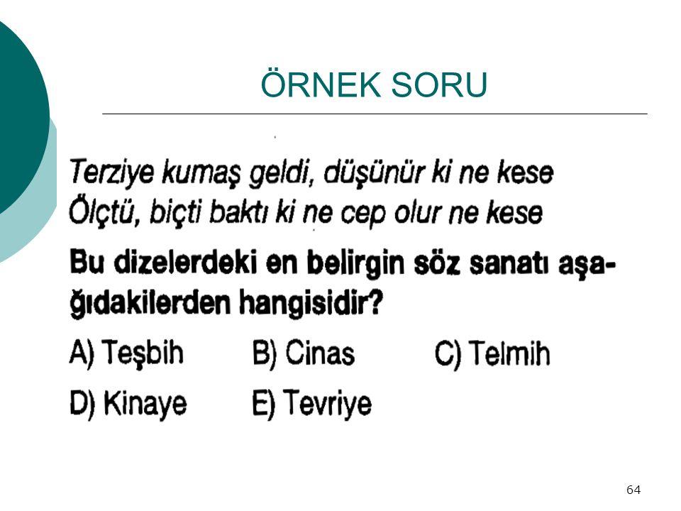 ÖRNEK SORU 64